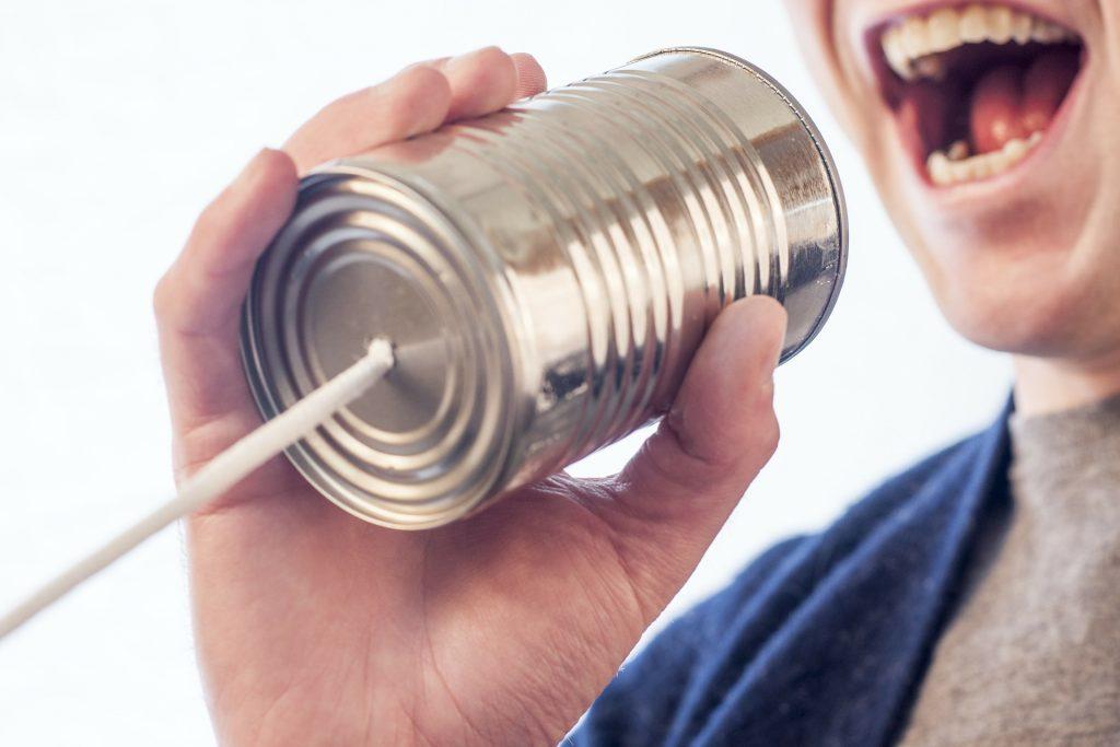 Taisez-vous et communiquez !